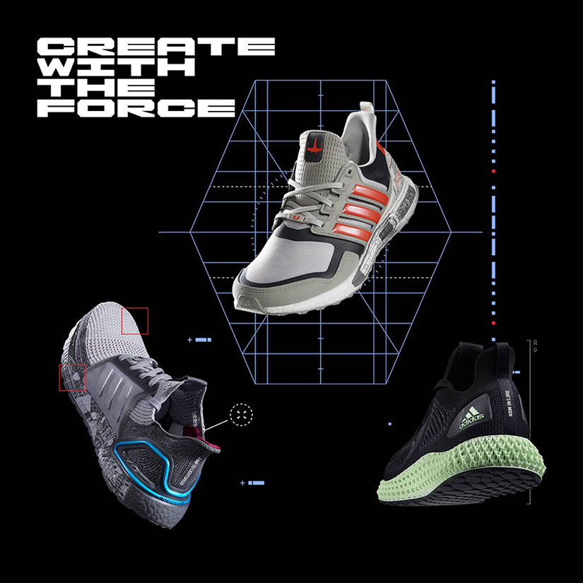 Adidas and 'Star Wars' release collaborative shoes. One of